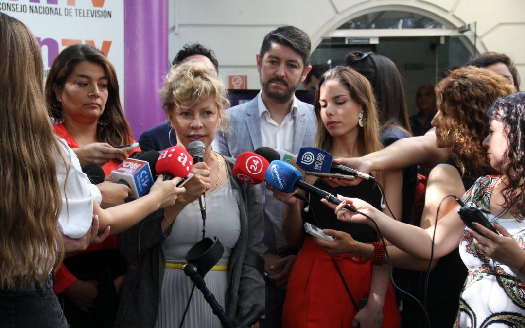 CNTV realiza sorteo de orden de aparición en la Franja Televisiva
