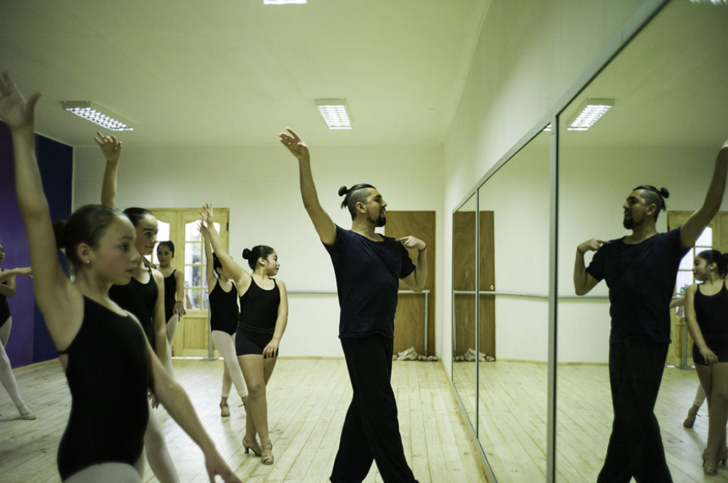 Dagoberto Huerta - bailarín y coreógrafo