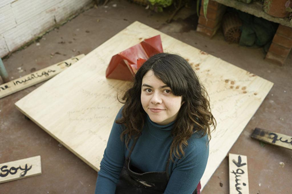 Alejandra Ayala - artista visual titulada de la Universidad de Chile