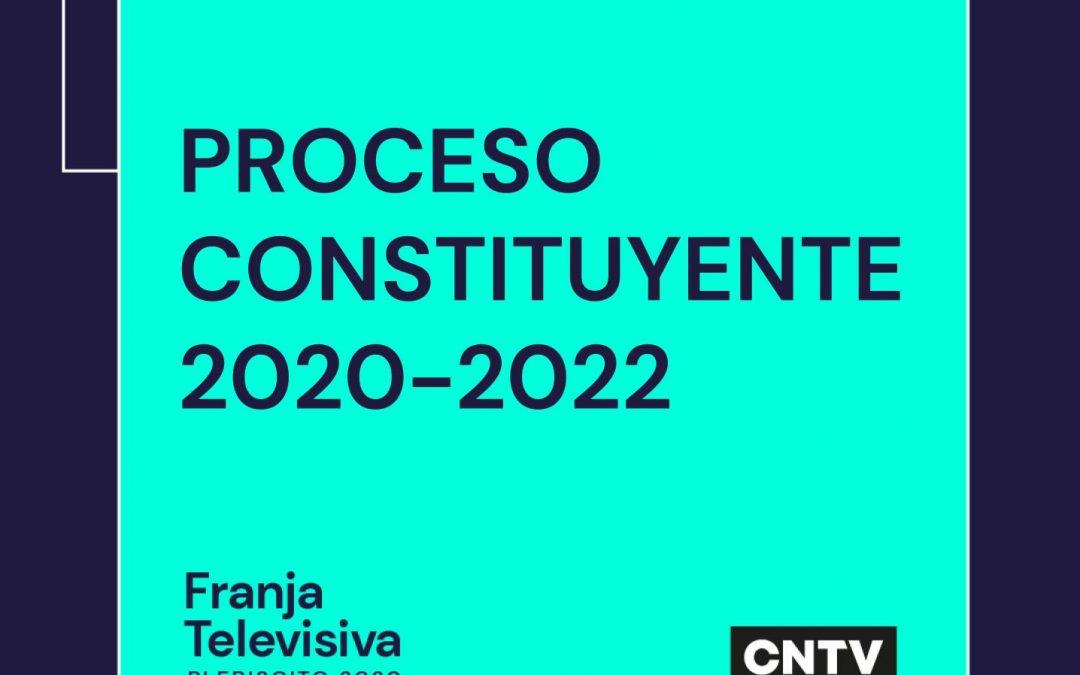 Calendario Constituyente 2021-2022