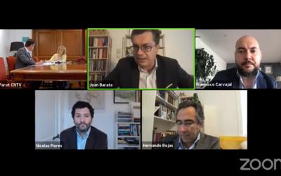 """Seminario Internacional CNTV 50 años: Catalina Parot: """"es necesario actualizar la regulación y la institucionalidad sectorial"""""""