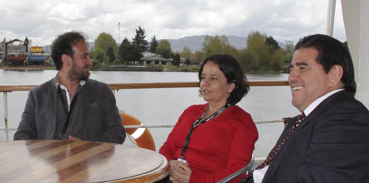 Presidente CNTV lanza sala con contenidos televisivos en FIC Valdivia 2014