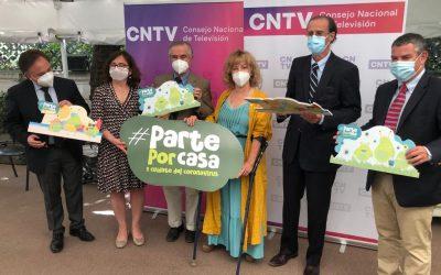 Universidad San Sebastián y Consejo Nacional de Televisión firman alianza para producción de contenidos infantiles