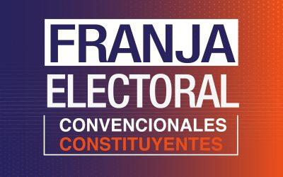 Encuesta CNTV: Un 68% de las personas vio la franja electoral de Convencionales Constituyentes