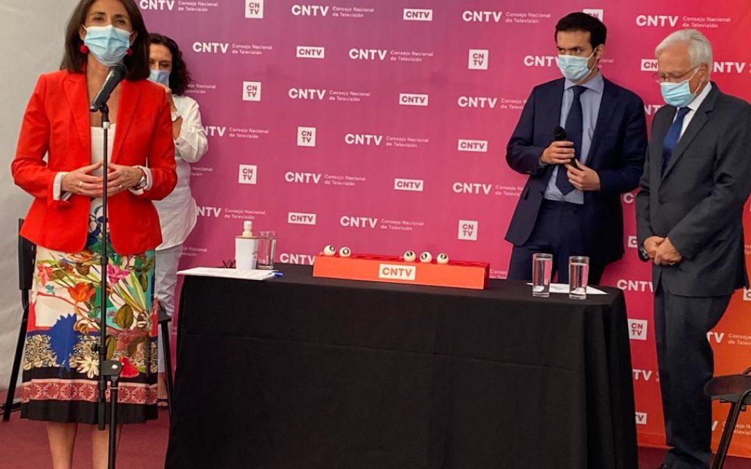 CNTV realiza sorteo de orden de aparición en la Franja Televisiva de Convencionales Constituyentes
