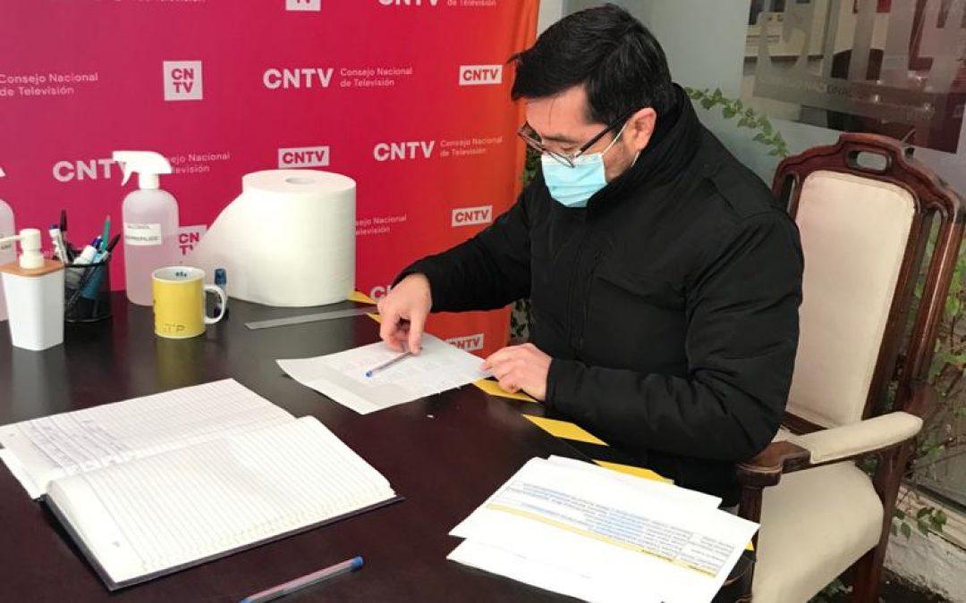 CNTV recibió material para la Franja Electoral de todos los candidatos de Primarias Presidenciales 2021