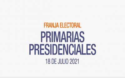 Franja electoral de Primarias Presidenciales alcanza mayor sintonía que la de Convencionales Constituyentes