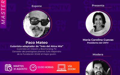 """Masterclass: De la novela a la serie, viaje de """"Inés del Alma Mía"""""""