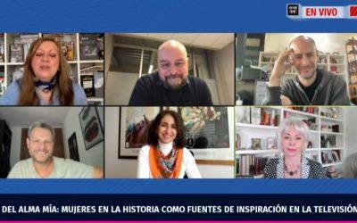 """CNTV organiza conversatorio sobre nueva serie """"Inés del Alma Mía"""" con participación de escritora Isabel Allende y directores"""