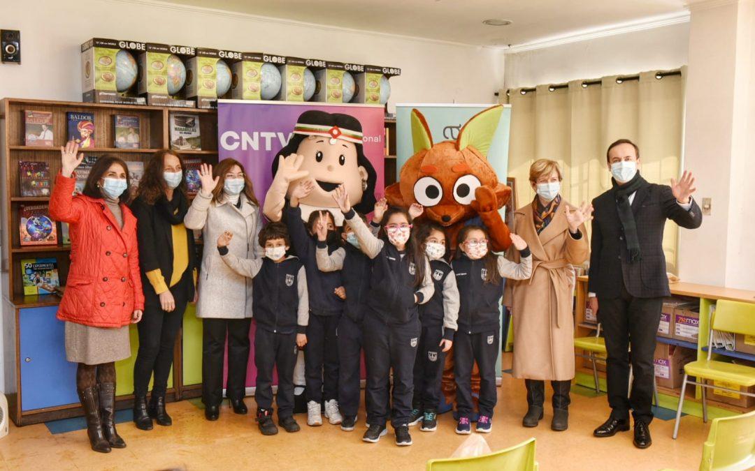 CNTV presenta series para apoyar aprendizaje de niños y niñas en la vuelta a clases