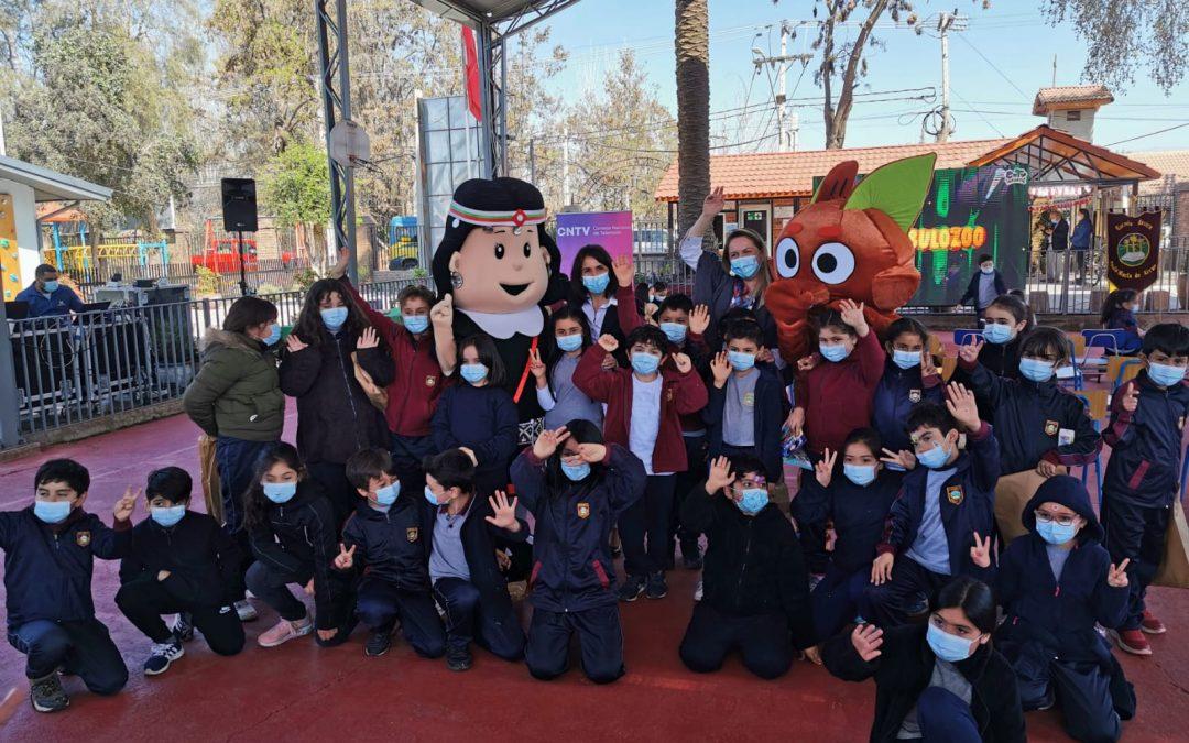 CNTVpresenta en Colinaseries infantiles parareforzar la recta final del año escolar